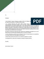 PCSO Letter