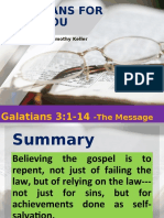 GALATIANS FOR YOU CHAP 3-1-14