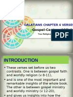 Galatians 4 8-20 Gospel Centered Ministry