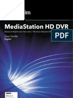 Verbatim Media Station HD DVR User Guide ENGLISH