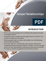 Galatians 5 26 6 1 5 Gospel Relationships