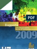 CSR Report 2009 - ALER Brescia (Italian)