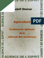 Agriculture_Fondements spirituels de la méthode Bio-dynamique - Rudolf Steiner [Epub]