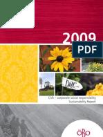 CSR Report 2009 - ÖBO (English)