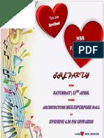 2k19 Nss farewell invitation-1