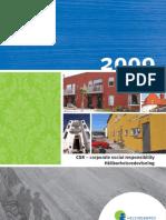 CSR Report 2009 - Helsingborgshem (Swedish)