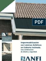 Impermeabilización en cubierta inclinada