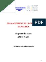 MANAGEMENT SI LEGISLATIE SANITARA  AMG II - Copy