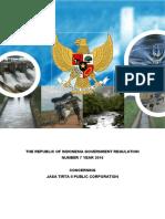 PP No[1]. 7 Tahun 2010 Ttg PJT II (Translated - Final)