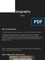 geography- maps