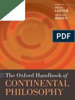 The Oxford Handbook of Continental Philosophy ( PDFDrive.com ).pdf