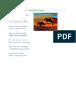 poezie Asfintit marin de Lucian Blaga