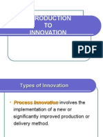 Chapter 8 Introduction to Innovation