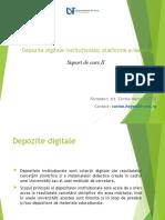 Depozite digitale instituționale,platforme e-learning.ppt