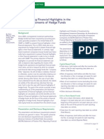 Understanding Financial Highlights in the Financial Statements of Hedge Funds