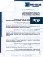 LEI Nº 1.069 - AUTORIZA A CELEBRAÇÃO DE CONVÊNIO COM O INSTITUTO DE PREVIDÊNCIA E ASSISTÊNCIA DOS SERVIDORES DO ESTADO DE GOIÁS - IPASGO.pdf