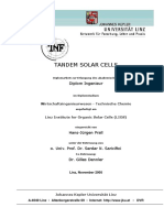 TANDEM SOLAR CELLS basic thesis