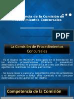 Diapositivas Comisión de Procedimientos Concursales