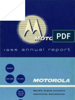 History Motorola Annual Report Archive 1955 4p12mb 24