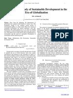 Conceptual study on sustainable development