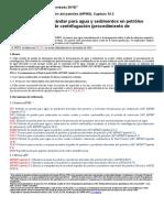 Método de prueba estándar para agua y sedimentos en petróleo crudo por el método de centrifugación.docx