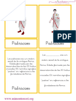 tarjetas-de-las-clases-sociales-de-roma-letra-ligada