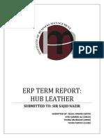 final erp report