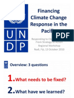 Financing Climate Change Response in the Pacific