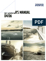 VOLVO PENTA - D4 - D6 - MANUAL DO OPERADOR