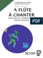 La Flute a Chanter