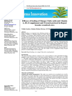 Efficacy of Feeding of Omega-3 Fatty Acids on RB Cows