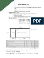 Ejemplo cálculo Carga de Fuego (Qf)