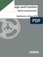 VOLVO PENTA - MARINE TRANSMISSIONS - GEARBOX - DRIVES - IPS