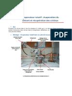 EvaporateurRotatif