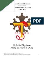 S1 - UE3 - Physique Rangueil 2015-2016