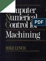 Computer Numerical Control for Machining Escrito Por Mike Lynch