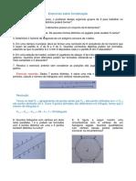Exercícios sobre Análise Combinatória (Combinação)