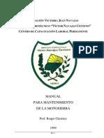 Manual Motosierra
