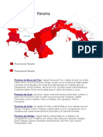 Provincias panama.docx