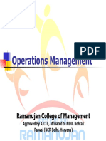 What is Operations