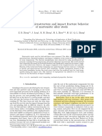 Study on the microstructure and impact fracture behavior--- (1).pdf