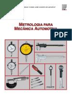 Metrologia Mecanica . Automotiva