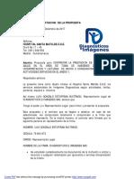 1.CARTA DE PRESENTACION  PROPUESTA Madrid