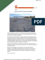 Selagem Asfáltica de Fissuras de Pavimentos - Téchne