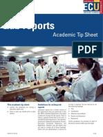 ECU-lab report instructions