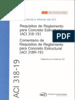 ACI 318 19 en Español
