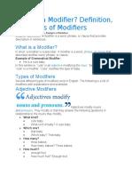 MODIFIERS.docx