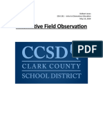 ccsd alternative field observation - delbert jones