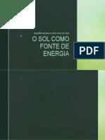 Aula 01 - Física ambiental - O Sol