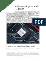 Qué Motherboard para AMD elegir en el 2020